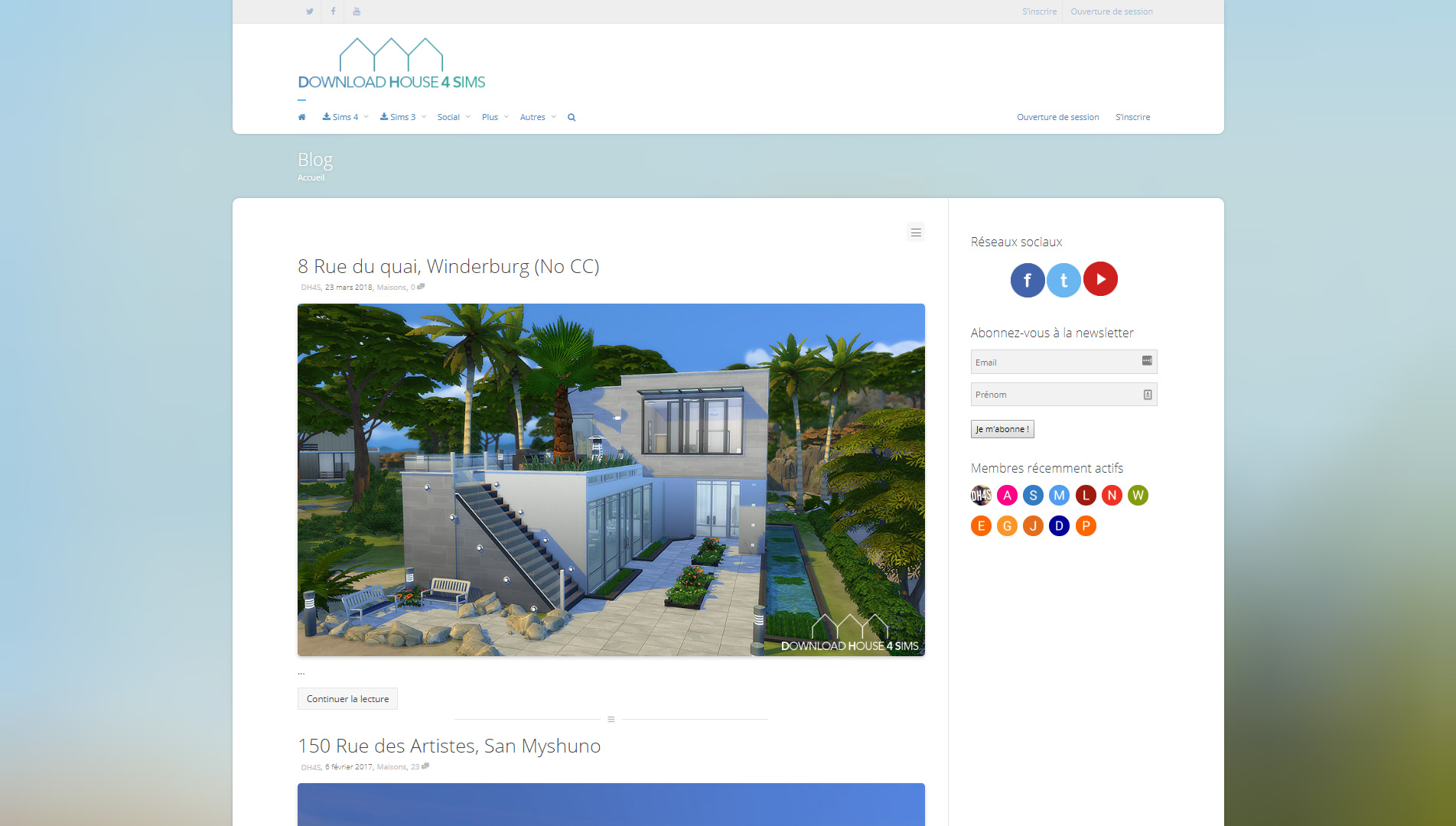 Download House 4 Sims