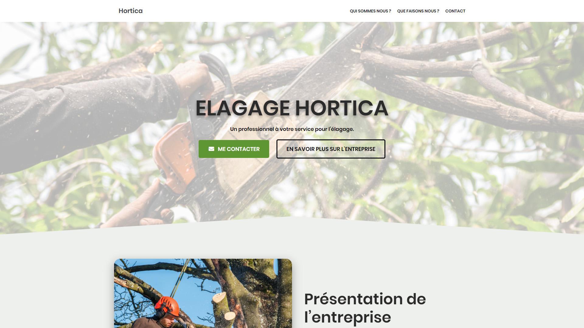 Elagage Hortica